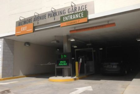 biltmore avenue parking garage