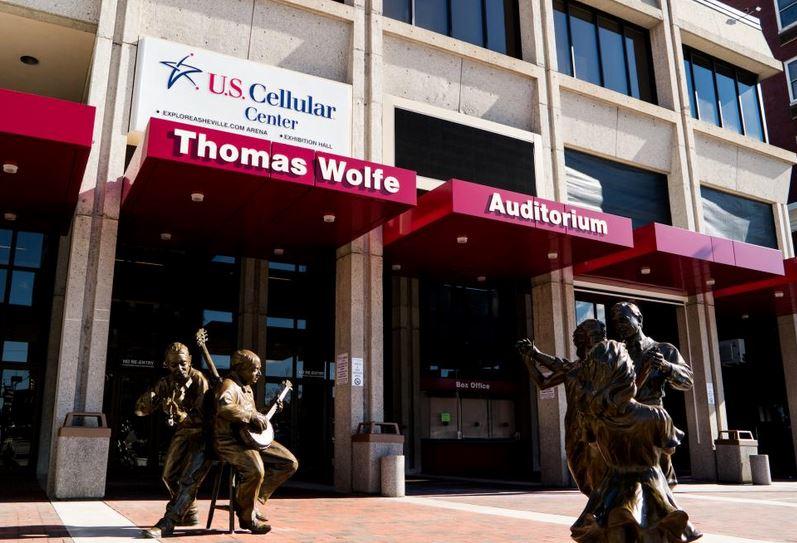 Thomas Wolfe Auditorium exterior