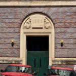 cornicopia doorway arch