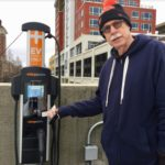 using an electric vehicle charging station