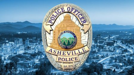 City of Asheville Police Officer Shield