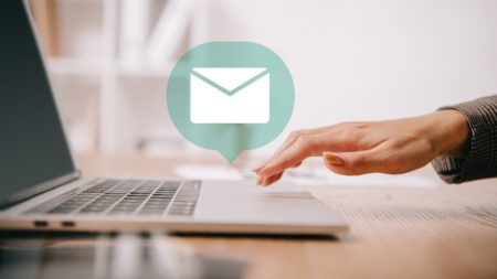 sending an email image