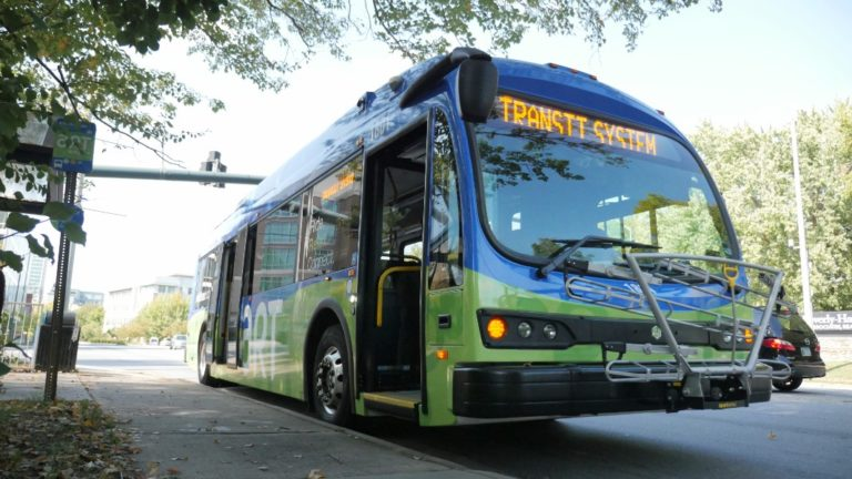 art transit system bus