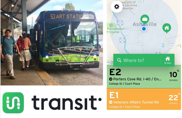 ART bus launches new real-time app for Asheville riders