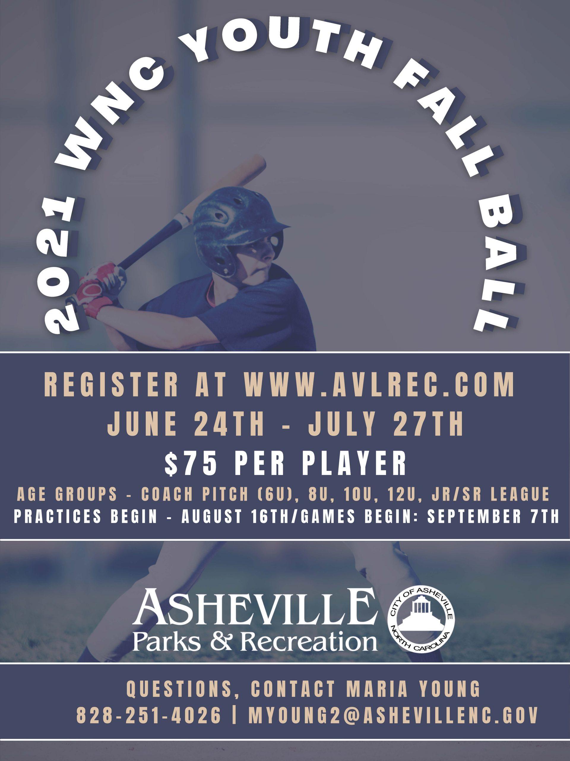 Youth Baseball Flyer