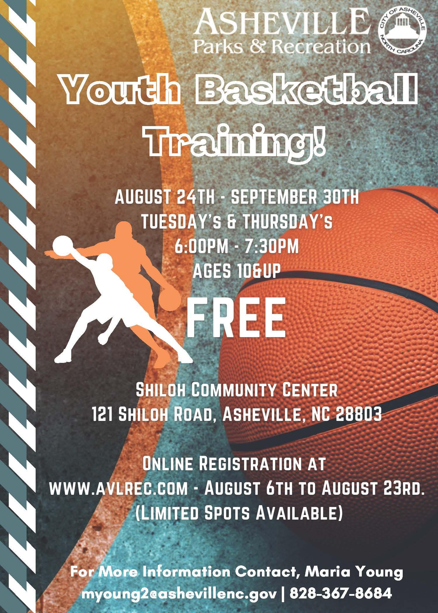 Youth Basketball Training Image