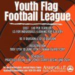 Youth Flag Football Flyer