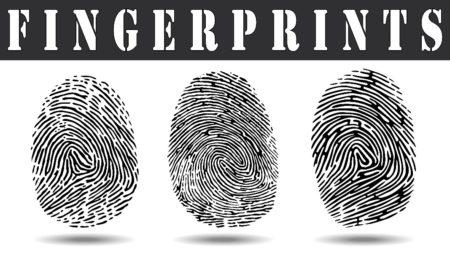 ink fingerprints