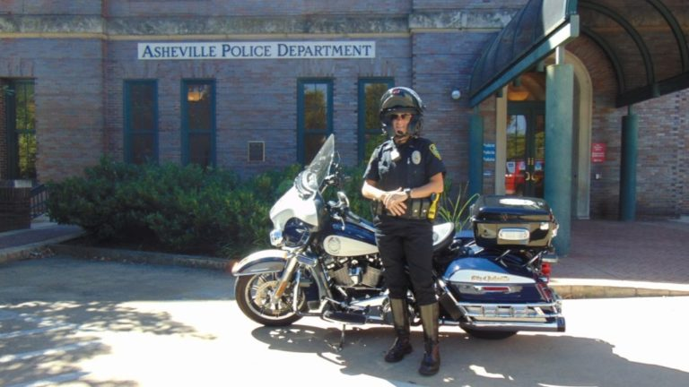 asheville city police officer