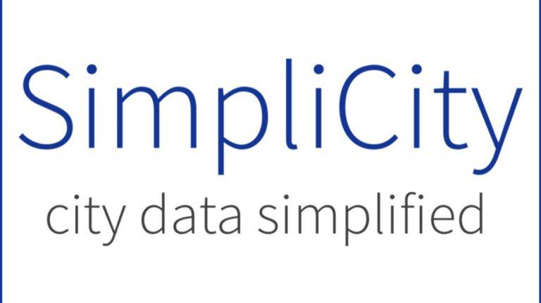 simplicity city data simplified logo