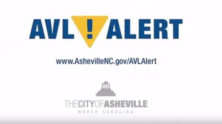 avl alert logo for the city of asheville