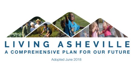 Living Asheville Cover Page