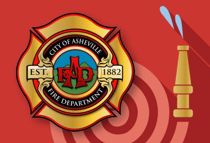 Fire Station 13 illustration with logo
