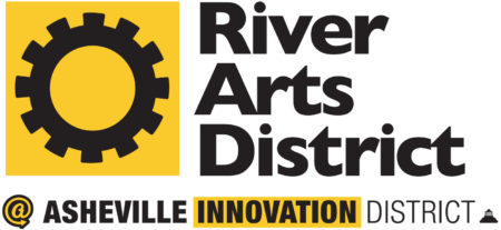 river arts district asheville innovation logo