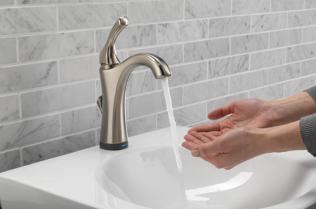water faucet and sink