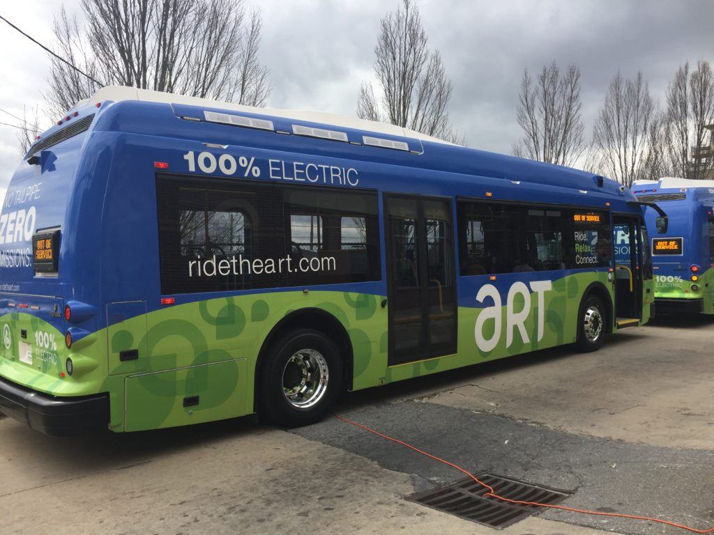 Asheville To Deploy Electric Buses On Art Routes June 1