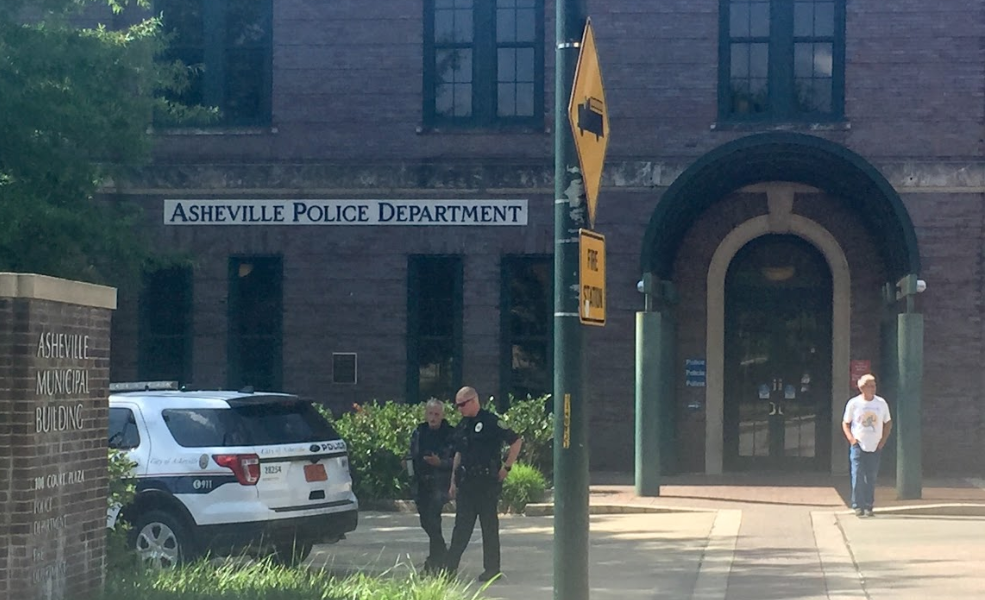 Asheville Police Department building front