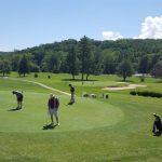 Golfing at Asheville Municipal Golf Course