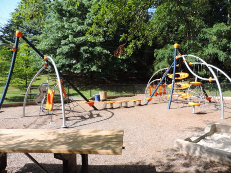 martin luther king jr. park playground in asheville nc