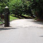 Riverside Cemetery Entrance