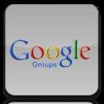 Google Group button