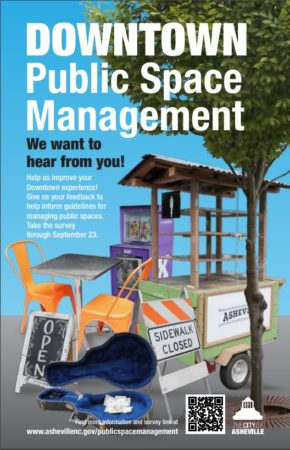 downtown public space management graphic image