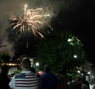 File photo: fireworks