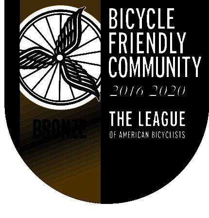 the league of american bicyclists logo