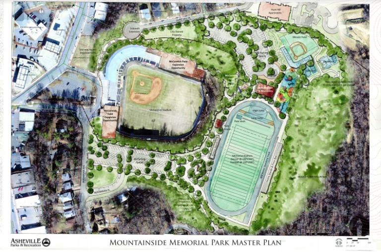 Mountain Memorial Stadium concept rendering