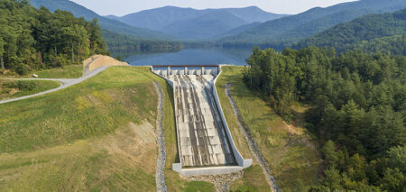 north fork auxiliary spillway