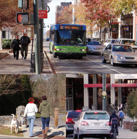 Asheville in Motion Mobility Plan Cover