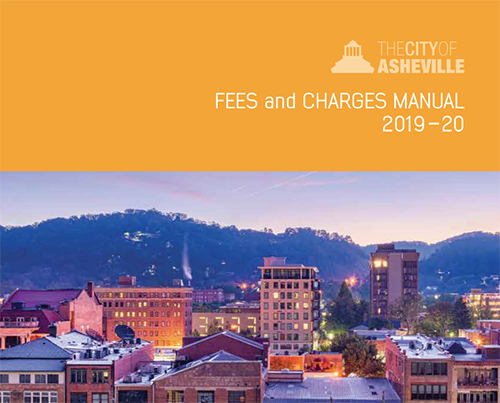 cover of fees and charges manual