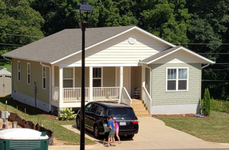 Habitat home in Candler