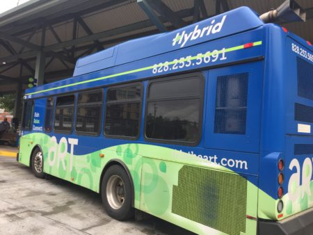 Hybrid ART bus photo