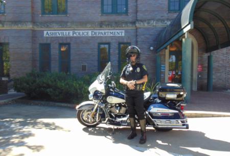 Asheville Police Officer Meg Donahue