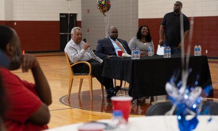 Commissioner Whitesides speaks