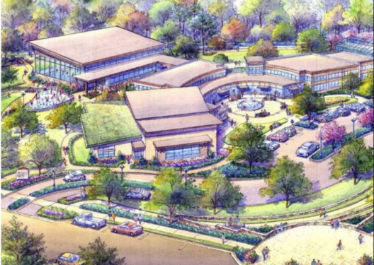 Grant Southside Center concept sketch