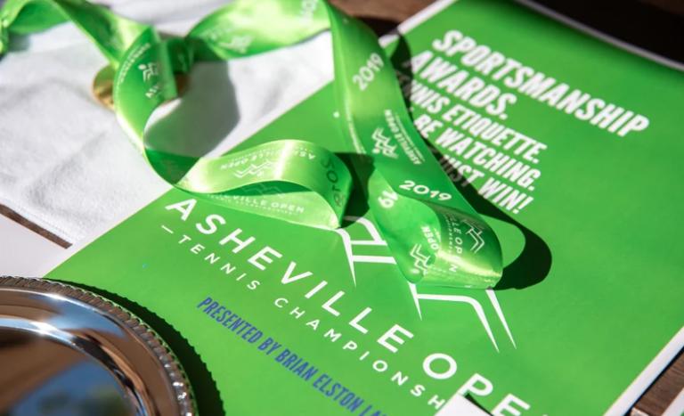 Asheville Open tennis ribbon