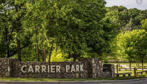 carrier park sign