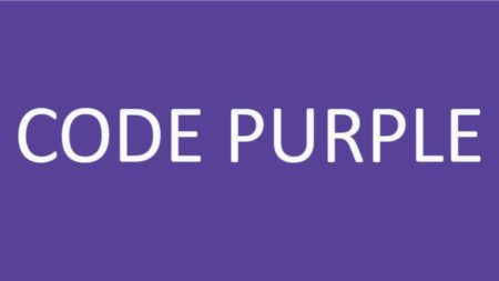 code purple text