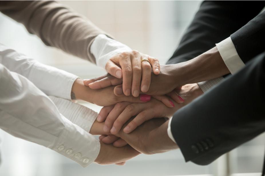 diversity hands unity photo illustration