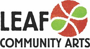 LEAF Community Arts logo