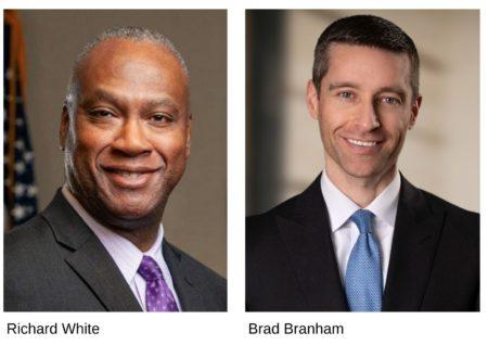 photos of Richard White and Brad Branham