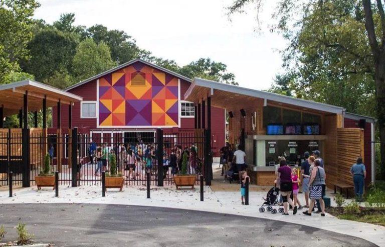 WNC Nature Center entrance