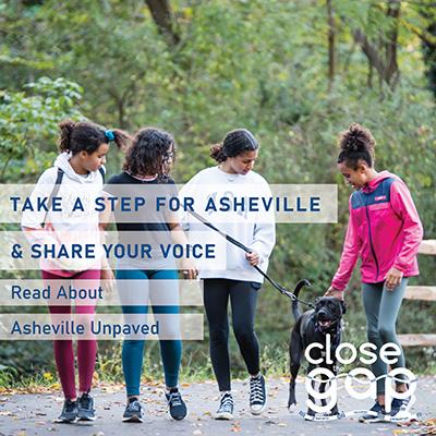 read about asheville unpaved