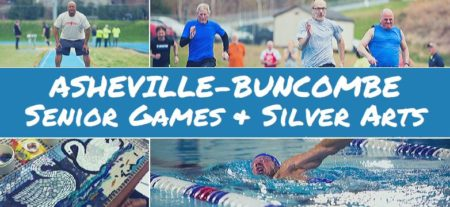 asheville buncombe senior games and silver arts competition banner