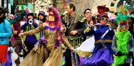 Asheville Mardi Gras Parade