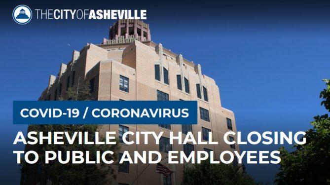 City hall closed COVID graphic