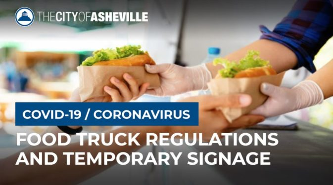 Food truck regs graphic illustration