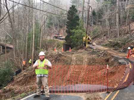 Old Toll Road landslide repair